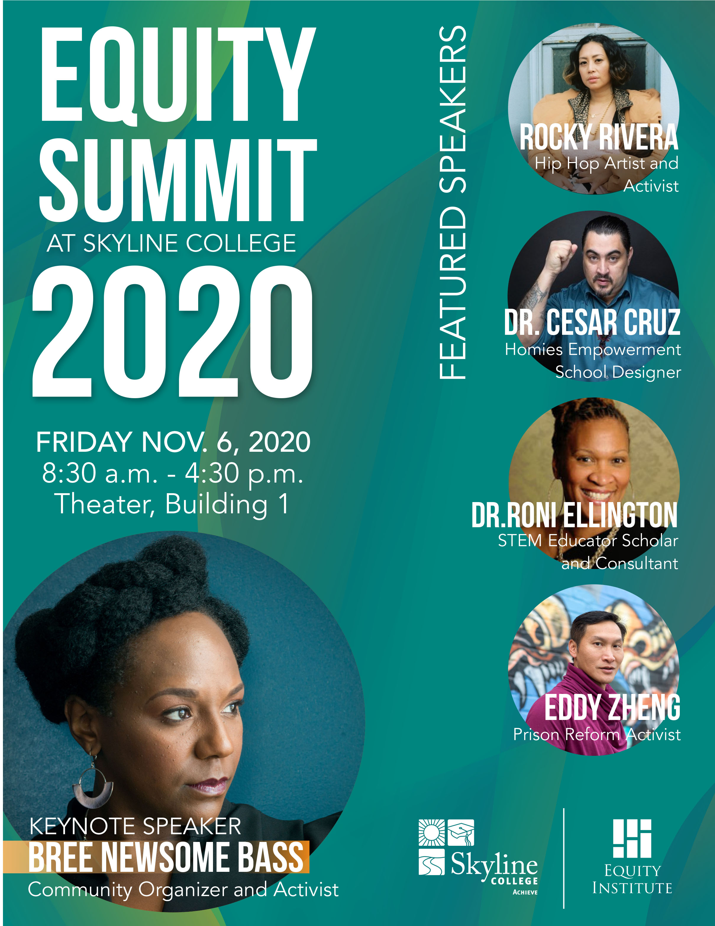 Equity Summit 2020 Flyer