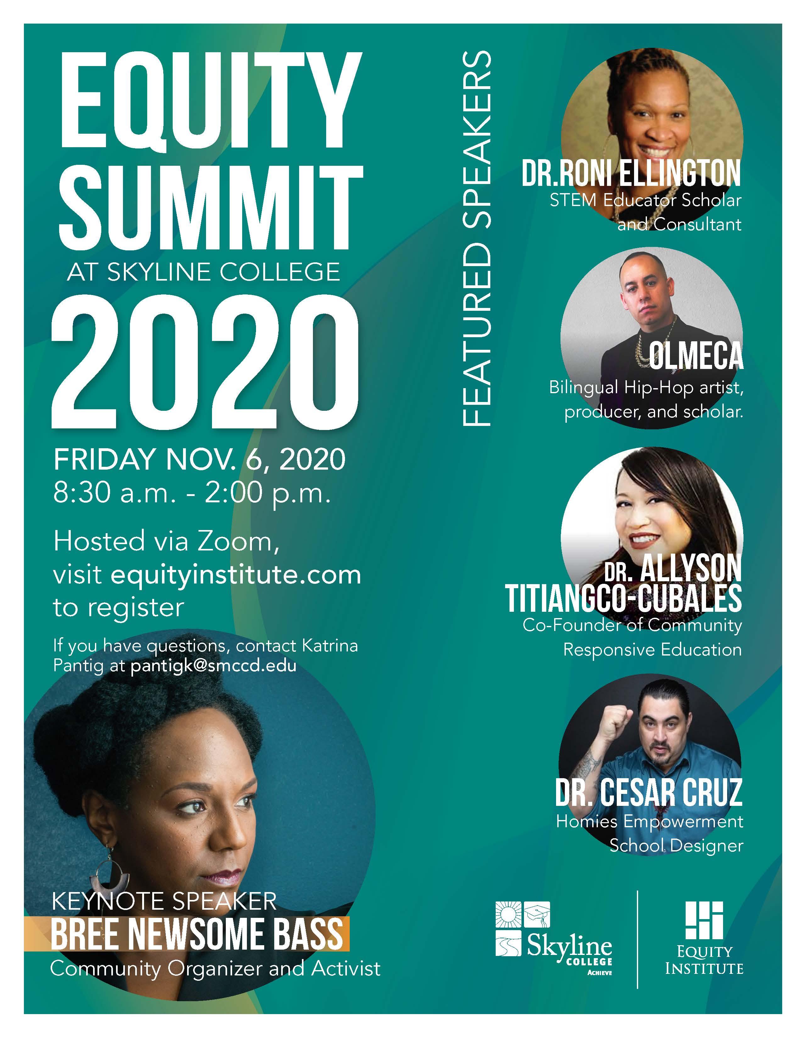 Virtual Equity Summit Flyer